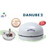 DANUBE 2 - ANTENA DE SATÉLITE - PARA EMBARCACIONES FLUVIALES 58x32cm