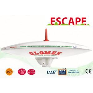 ESCAPE - C3779E - ANTENNA TV TERRESTRE OMNIDIREZIONALE PER CAMPER - 37CM DIAM