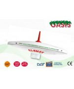 OASIS² - OMNIDIRECTIONAL DVBT TV ANTENNA FOR MOTORHOME - 25CM DIAM