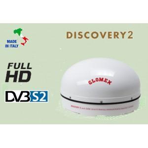 DISCOVERY 2 - ANTENA TV DE SATÉLITE ESTACIONARIA FULL HD DVB-S2