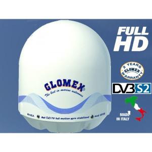 RHEA – ANTENA DE TV DE SATÉLITE- 47cm – 1 SALIDA - Full HD DVB-S2