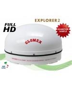 EXPLORER 2 - S500MK - FULL MOTION SATELLITE TV ANTENNA TV - EXHIBITION SAMPLE